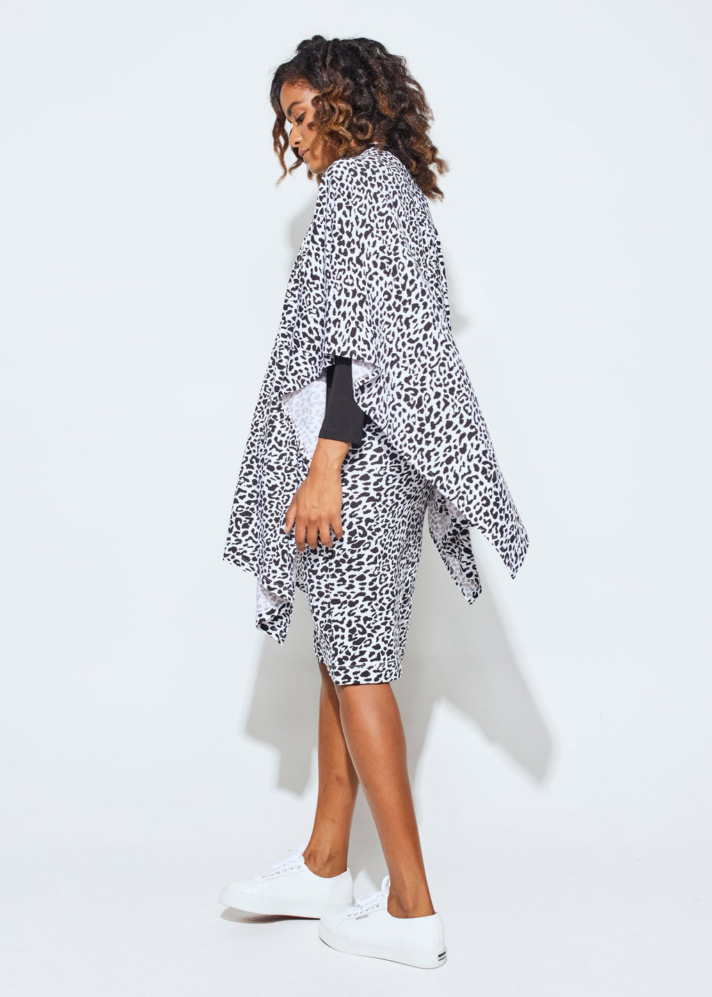 THE SUPREME BAMBOO WRAP, B/W LEOPARD