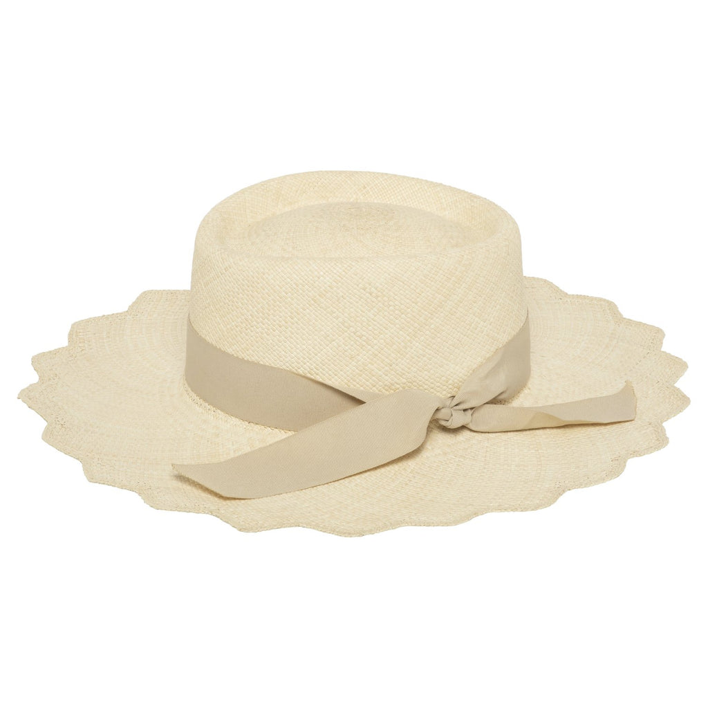 Scalloped Elegance Hat