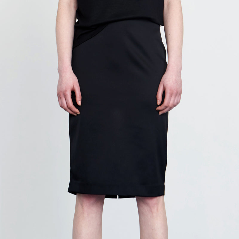 Classic Straight Pencil Skirt