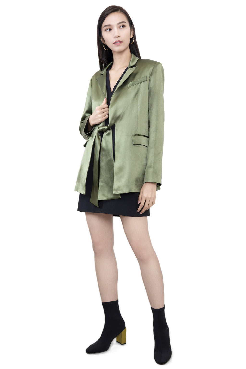 ATELIER MISS LU astrid green jacket
