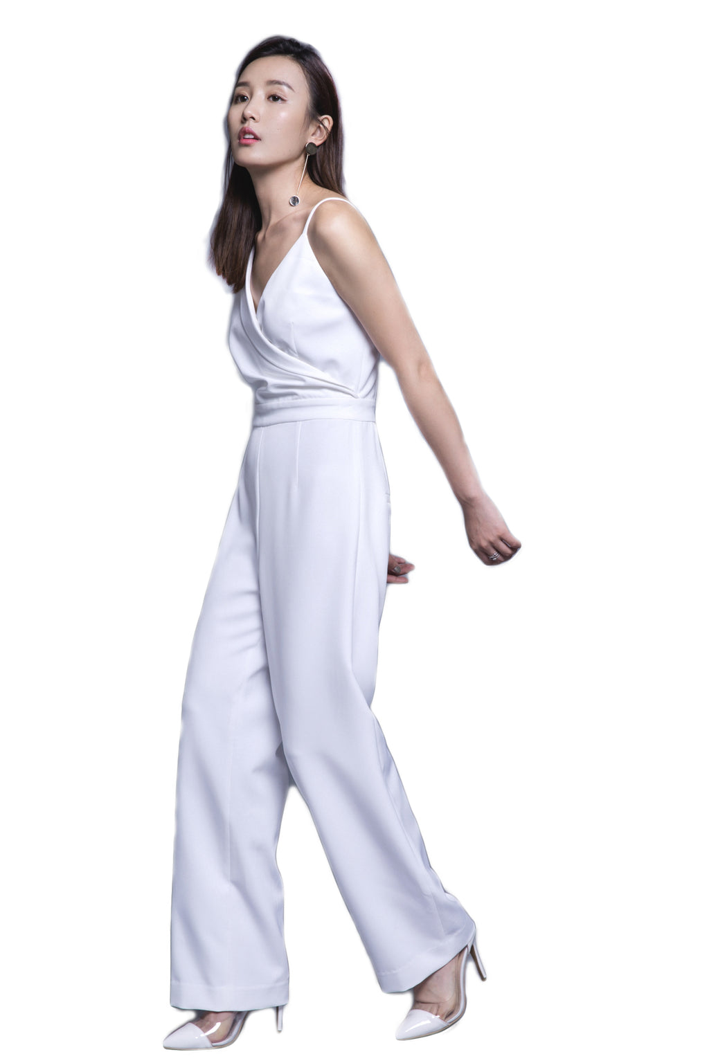 FEVER WANG asymmetric jumpsuit