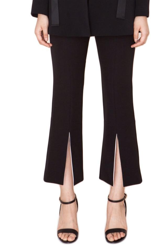 Middle Slit Flared Pants