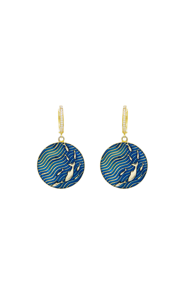 Fish School Earrings