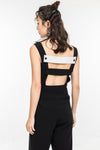 Back Plus And Minus Jumpsuit