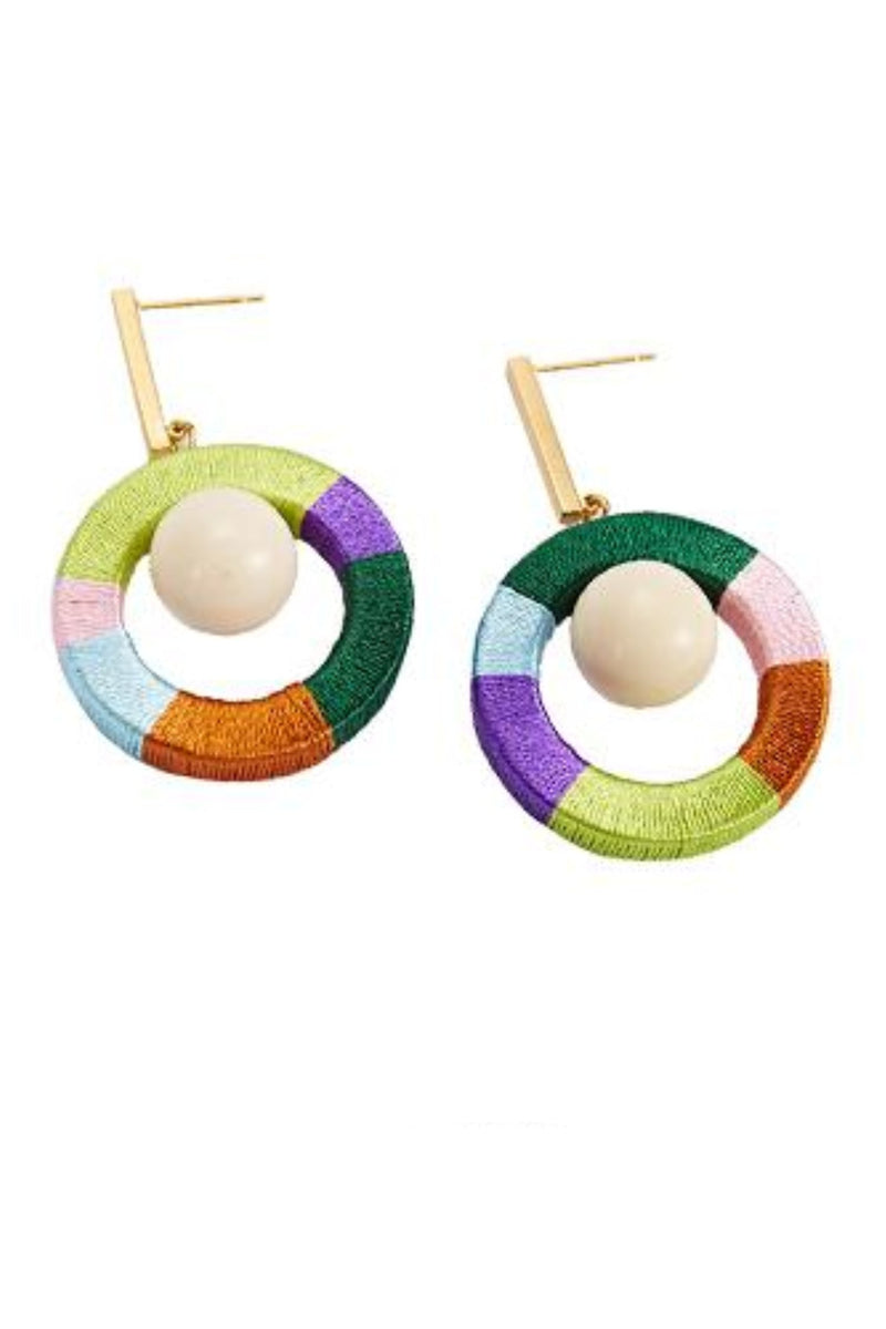 Big Bowl Rounded Earrings