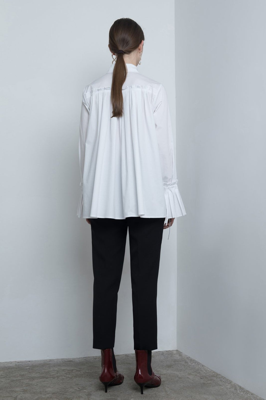 Organ Pleated Shirt