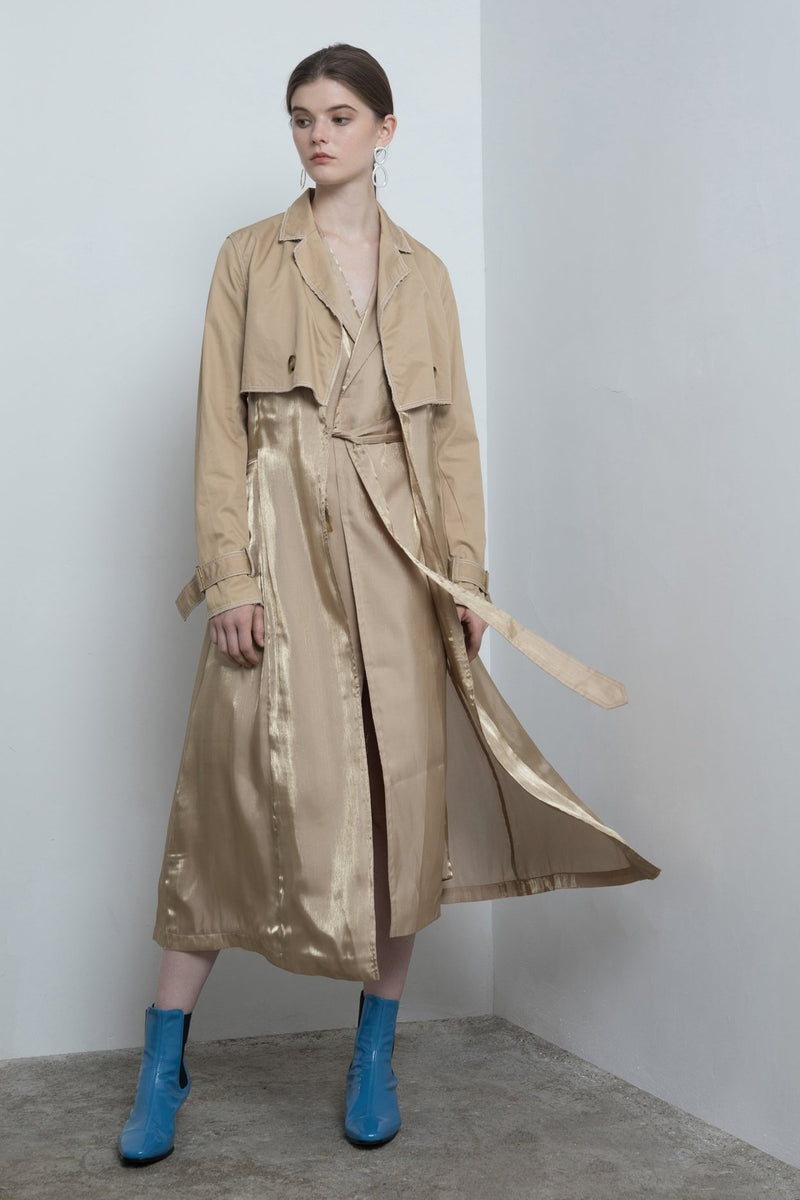Two-Piece Trench Coat