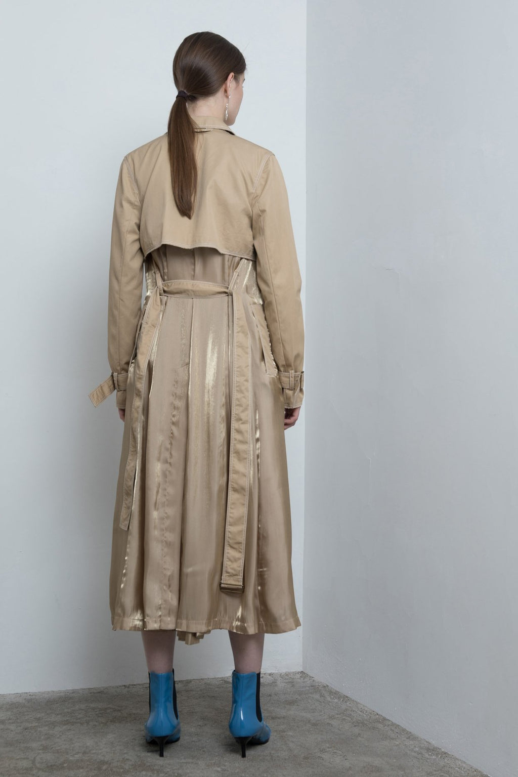 Yuel Xiang two-piece trench coat