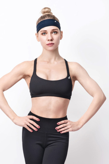 AngelVMax support cross back sport bra