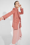 Three-Dimensional Sleeve Blazer - Pink