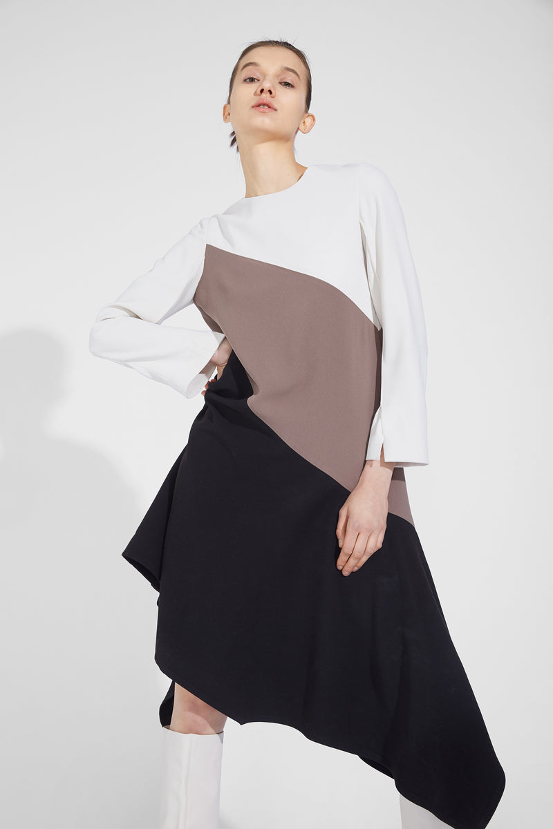 Irregular Hem Dress