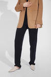 Blazer-Collar Double-Sided Wool Casual Jacket - Brown