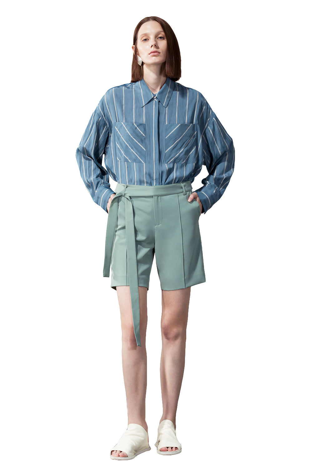 Baggy Shorts - Green