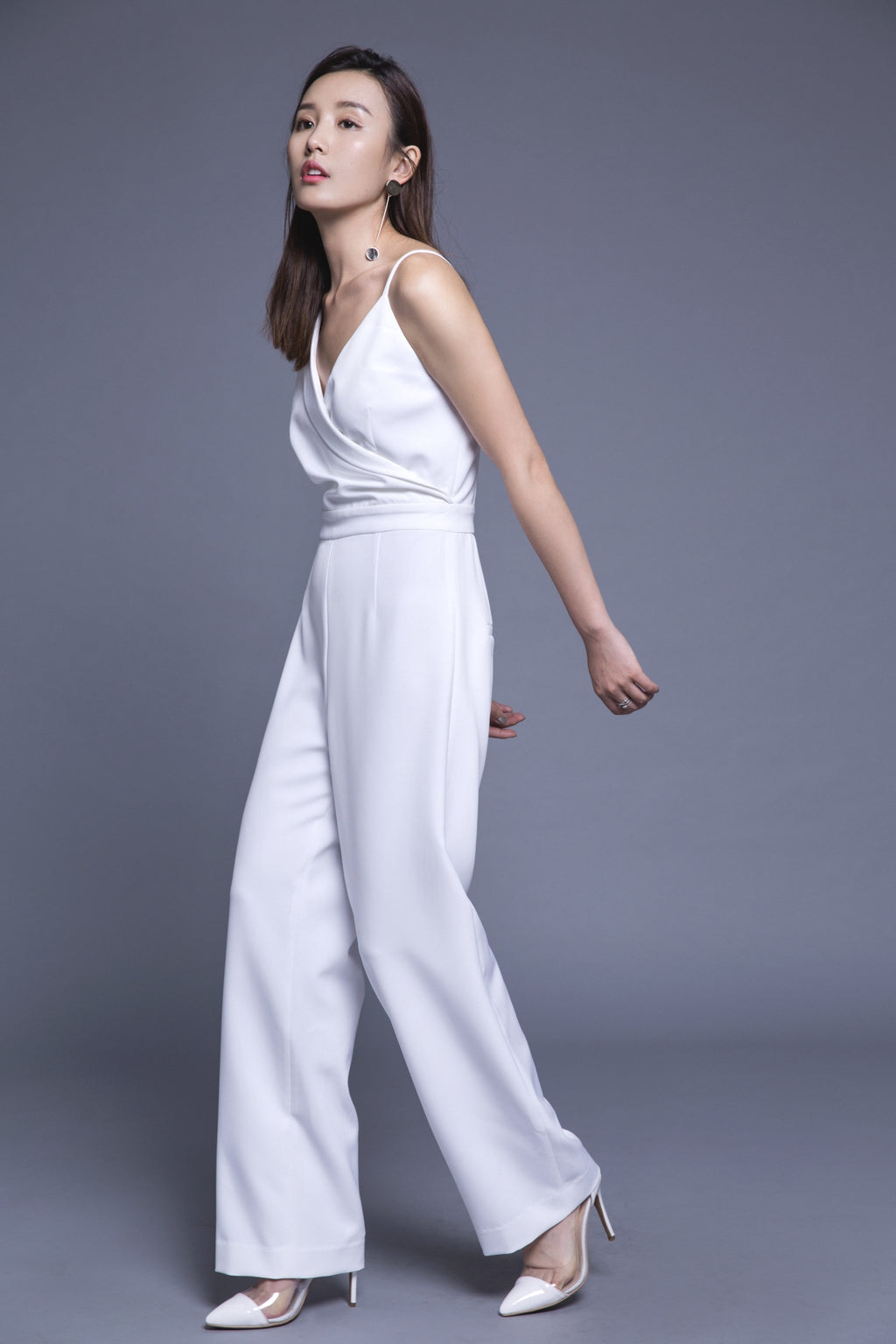 Fever Wang asymmetrical jumpsuit