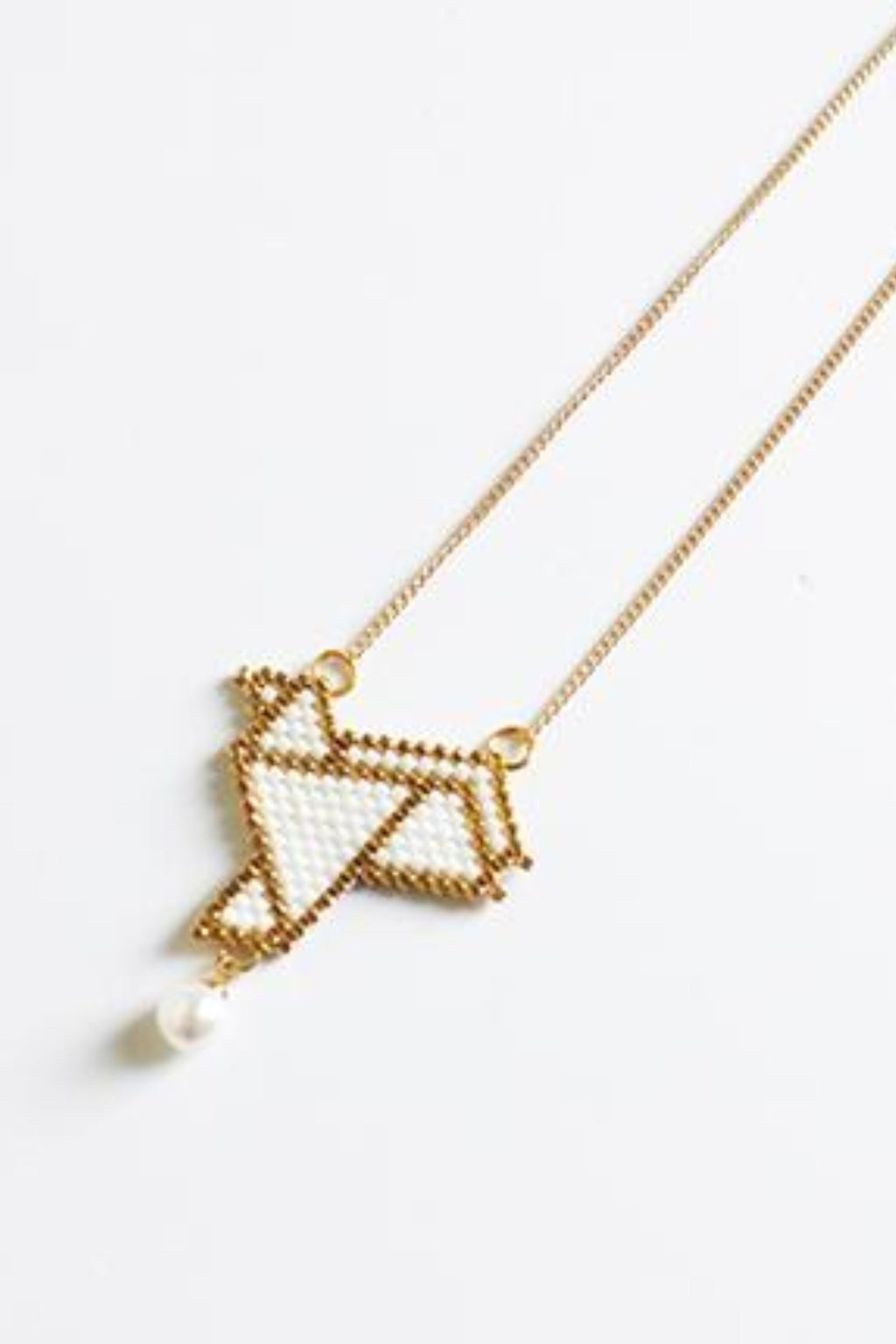 Xiu origami necklace