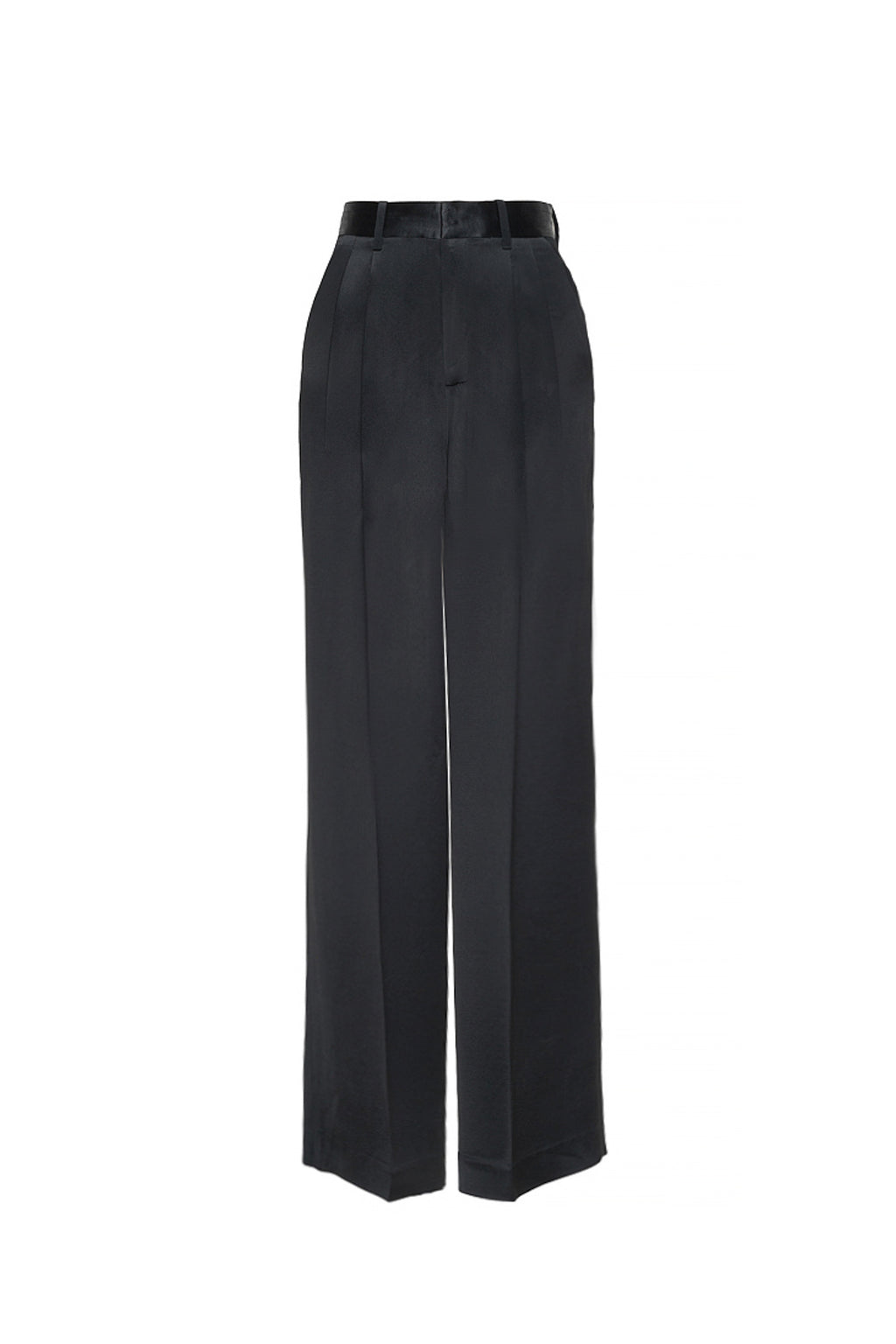 Acetate Wide Leg Trousers