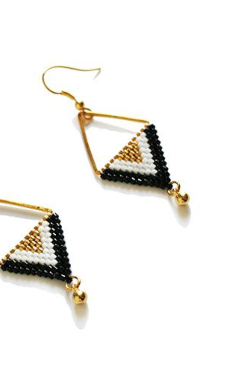Bohemian Triangle Earrings