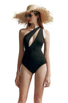 Black Hollow One-Piece Swimsuit
