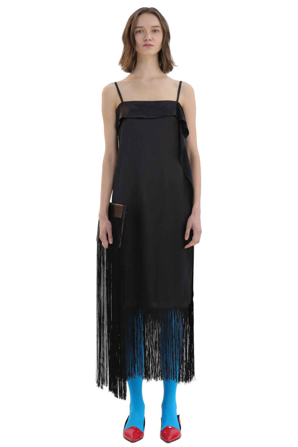 Fringed Sling Dress