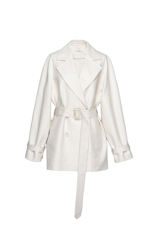 Classic Short Trench Coat