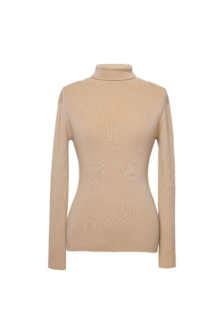 One-Piece Turtleneck Sweater