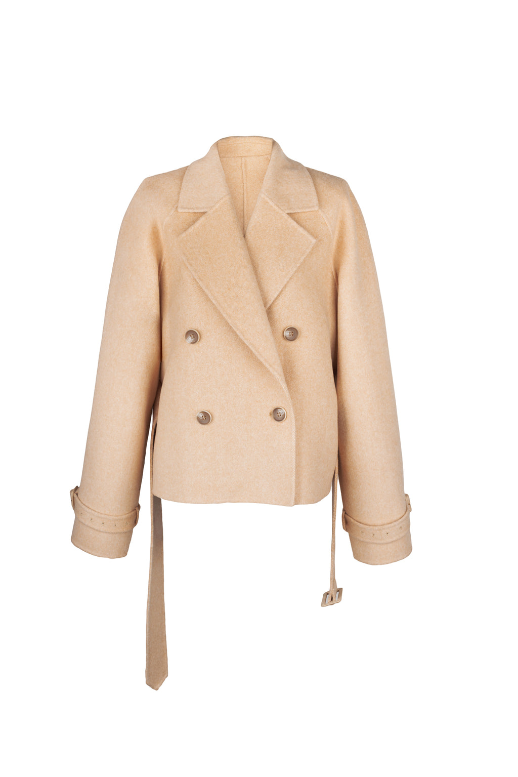 Short Double-Faced Coat