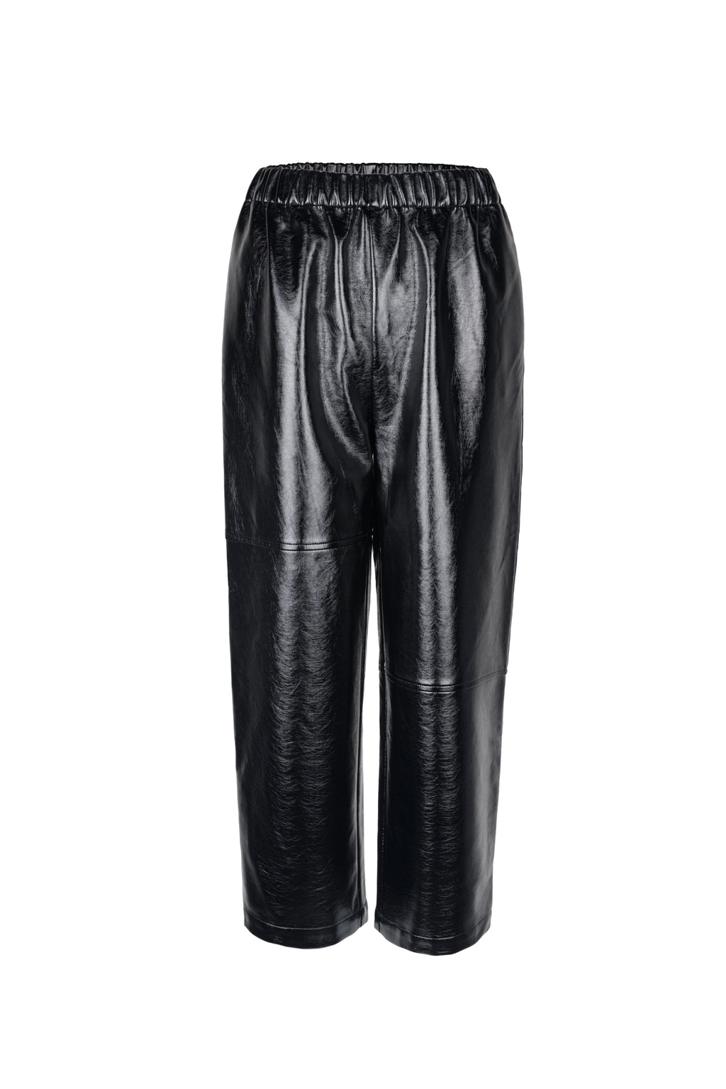 Bright Split Leather Pants
