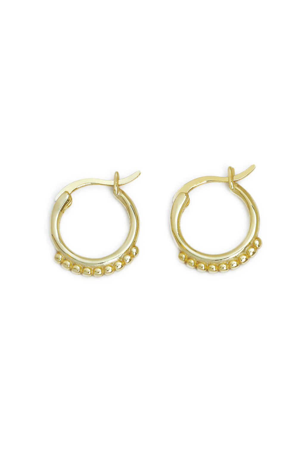 Golden Dots Earrings