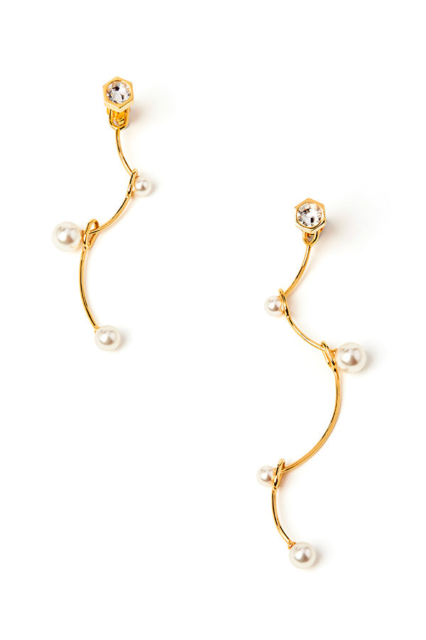 Hyperlink Earring