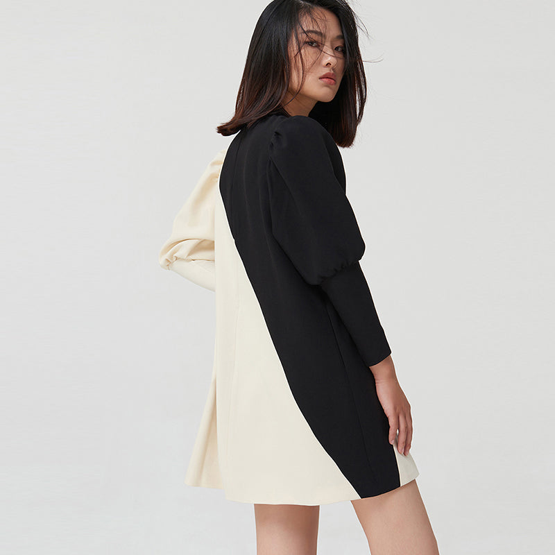 SENSE. GALLERY black long trench coat