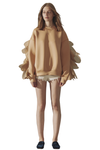 Little Monster Organza-Embellished Sweatshirt