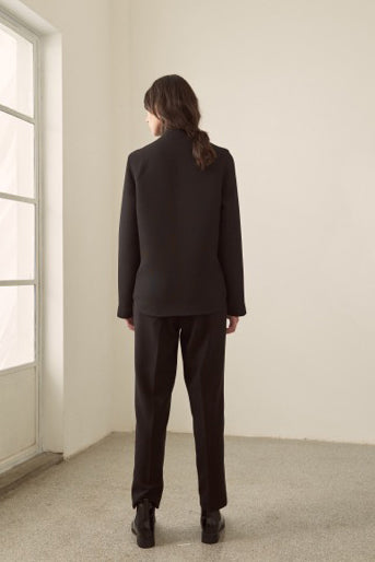 Simple Nine-Point Suit Pants