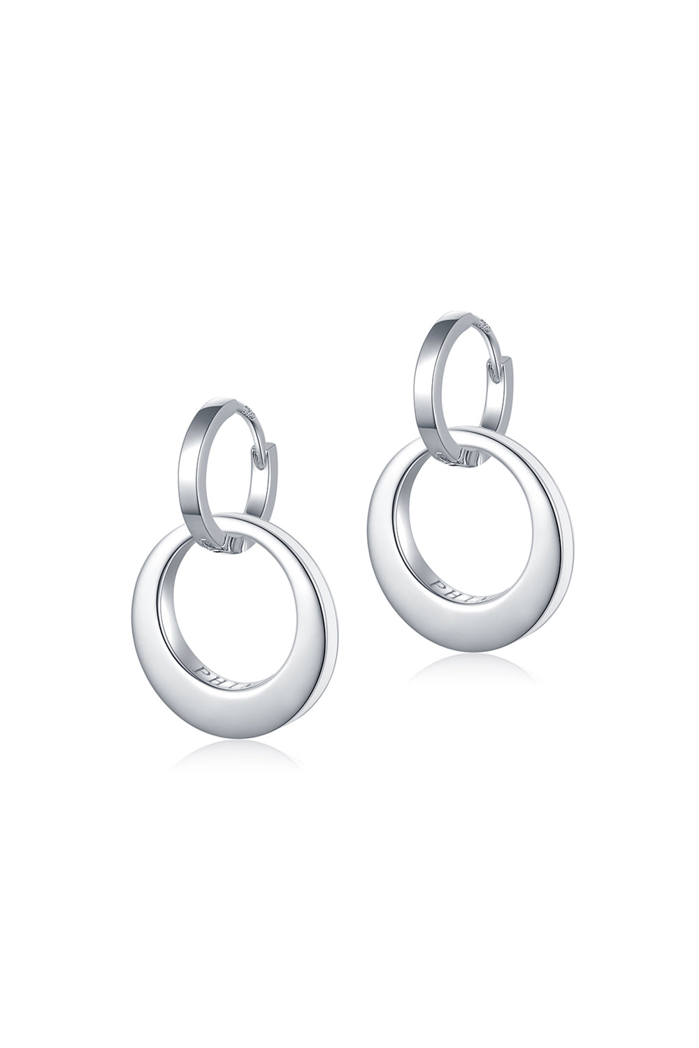 Centrifugal Round Earrings