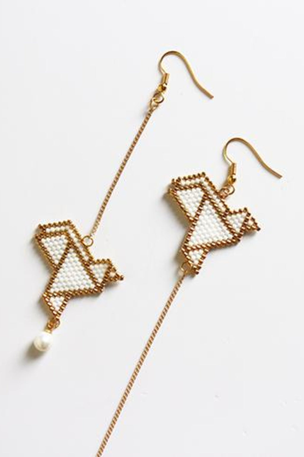 Xiu origami earrings