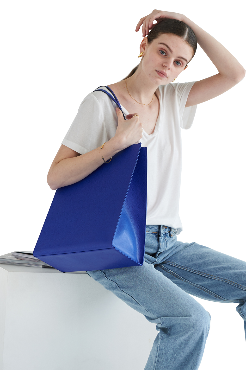 DALES SHOPPER - Royal Blue
