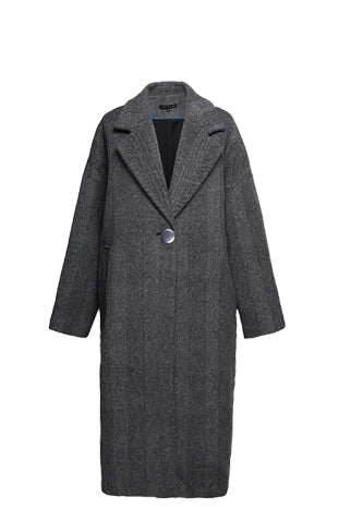 YUEL XIANG wool long coat