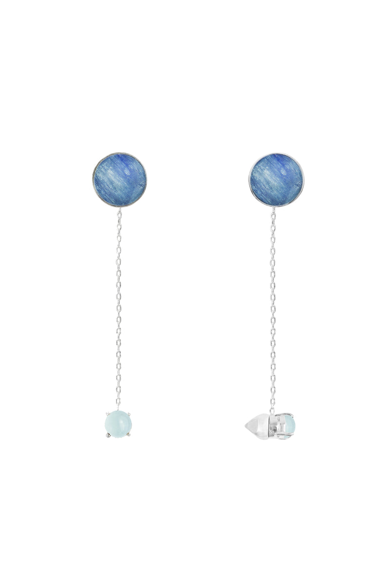 Blue Zeit Earrings