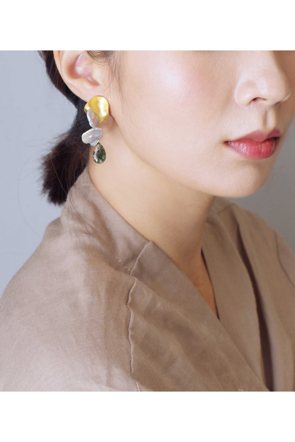 Gold Reef Earrings
