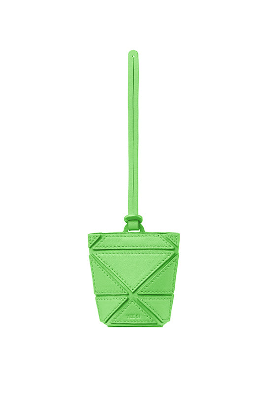 Facet Micro Foldable Charm - Green