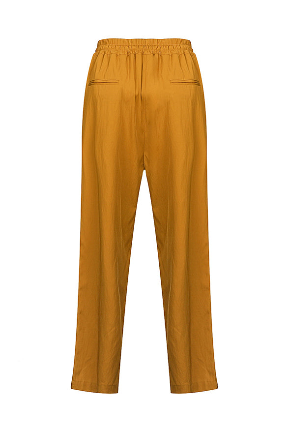 Drawstring Trousers - Yellow