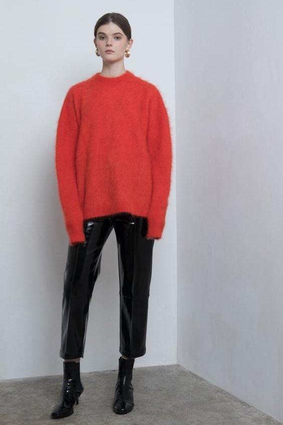 Yuel Xiang back split pullover sweater