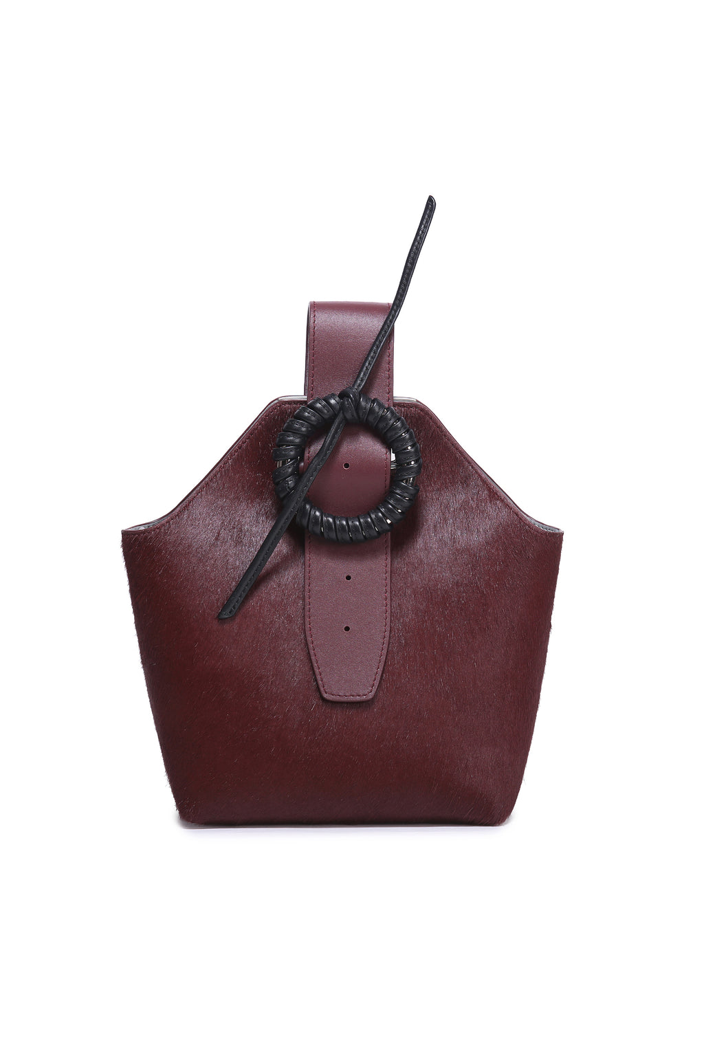Burgundy Bucket Bag