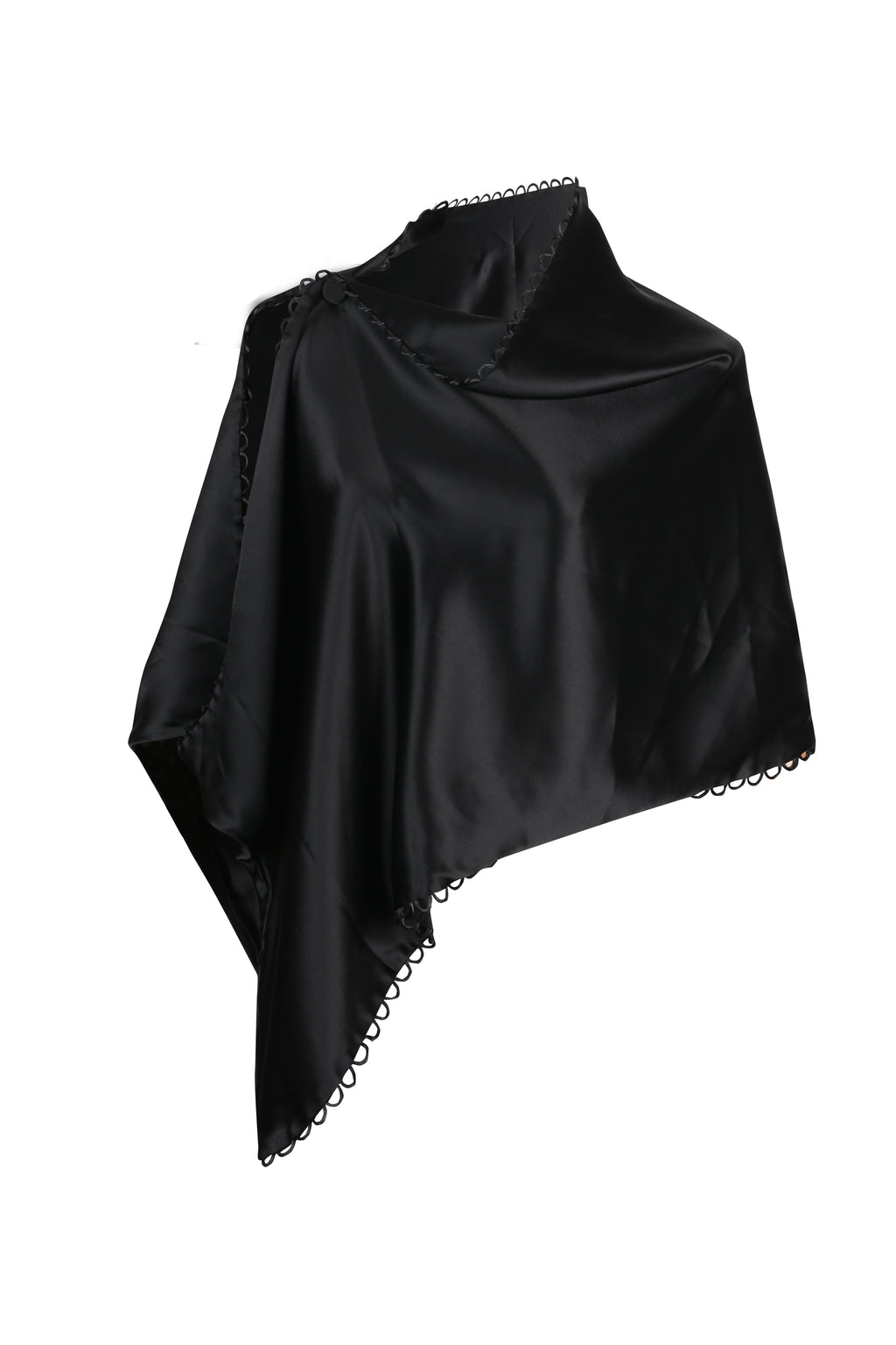 Thea Satin Cape