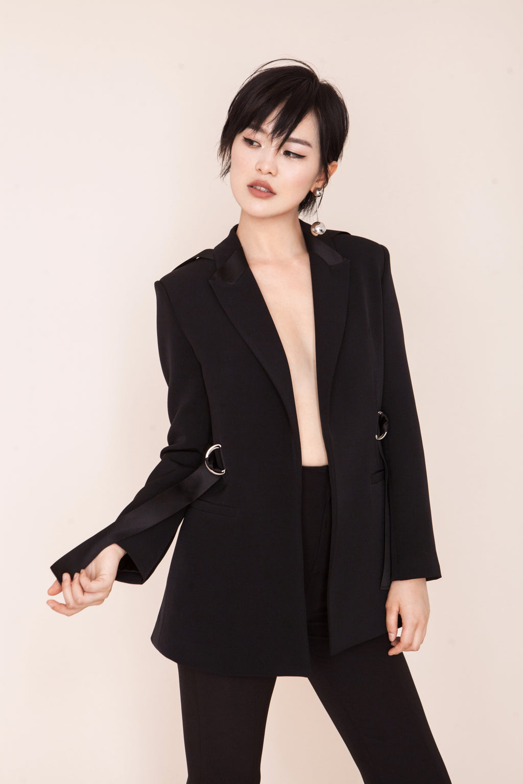 Ribbon Suit Jacket