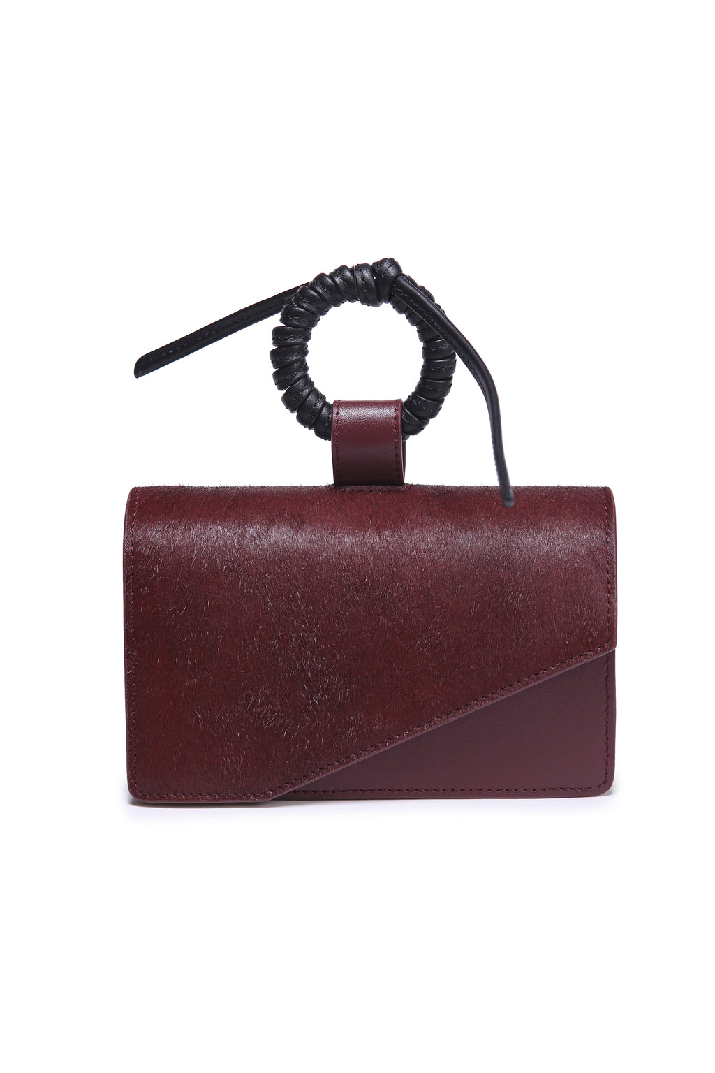 Burgundy Box Bag