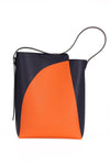 Series K Mixed Colors Large Shoulder Bag