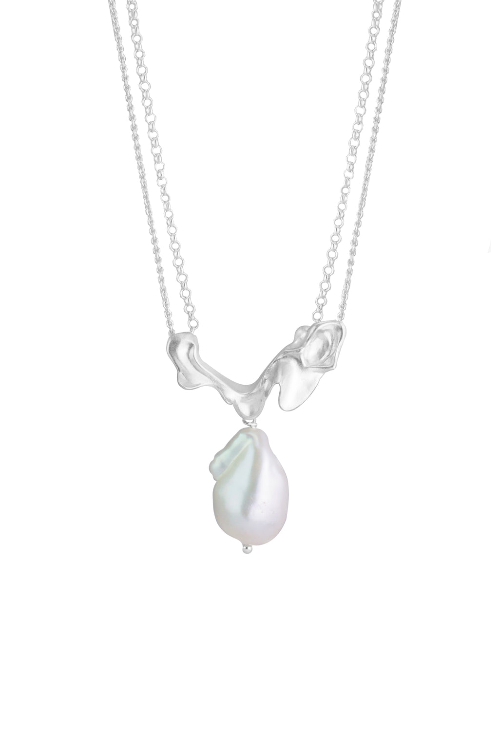 Pearl  Spray Necklace