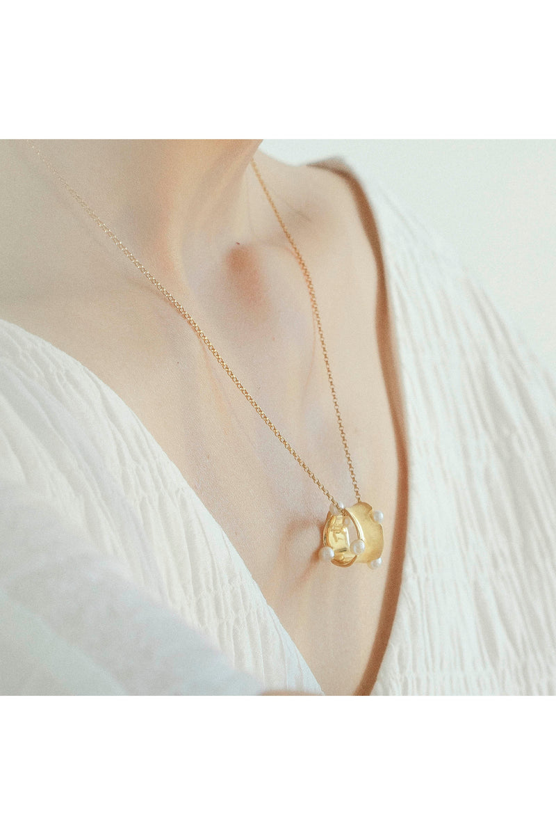 Golden Reef  Necklace