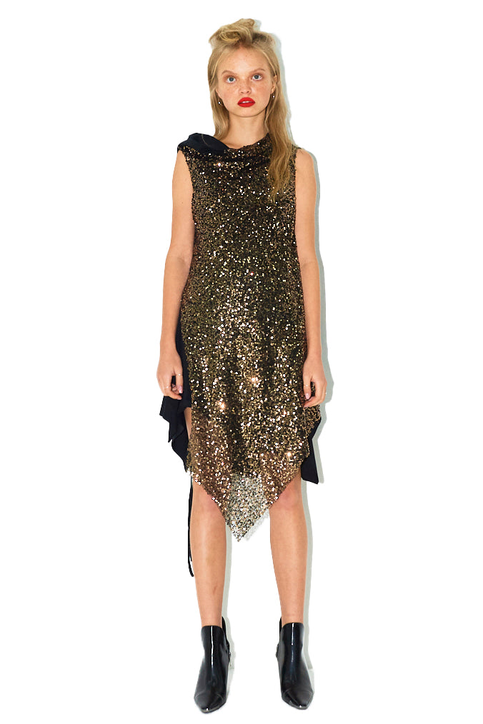 Loose Sequin Dress
