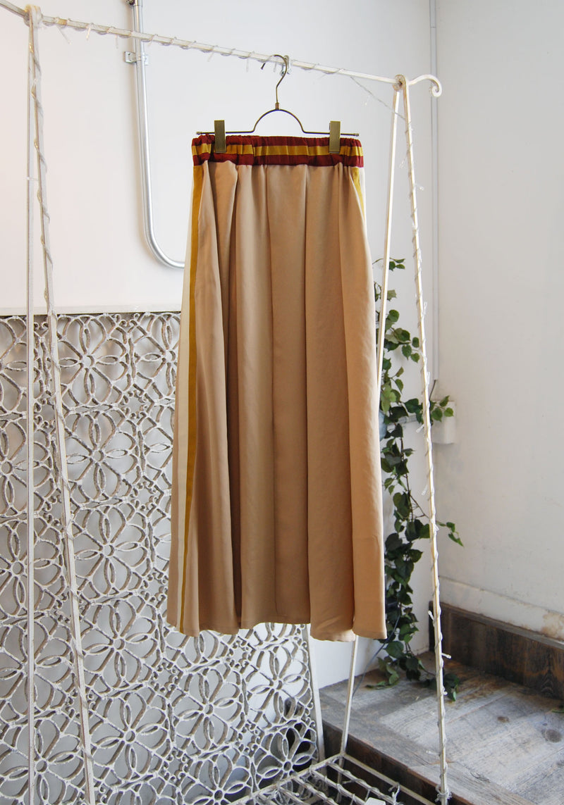 Long Beige Skirt